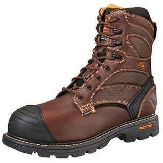 Thorogood Work Boots Mens Waterproof Insulated CT Brown 804-4459
