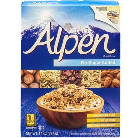 Alpen - Alpen Muesli Cereal No Sugar Added ( 4 - 14 OZ)