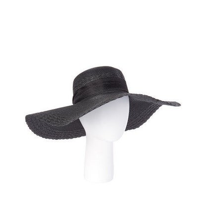 c963de2f64f Shop Women s Packable Large Wide Brim Straw Floppy Beach SPF50 Hat With  Ribbon - Free Shipping On Orders Over  45 - Overstock - 17001226
