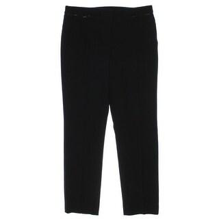 Anne Klein Womens Slim Leg Zipper Pockets Dress Pants - 16
