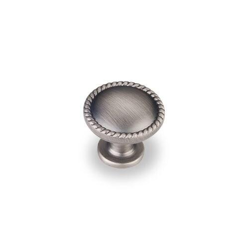 Elements Z115 Lindos 1-1/4 Inch Diameter Mushroom Cabinet Knob