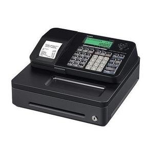 Casio Entry Level Pcr-T285-Bk Cash Register Black - 2000 Plus - 8 Clerks - 24 Departments - Thermal Printing