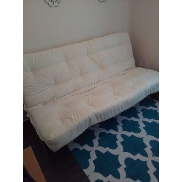 epic furnishings splendor 10inch loft full or queensize inner spring futon mattress free shipping today