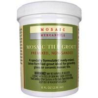 White - Mosaic Tile Grout 8Oz