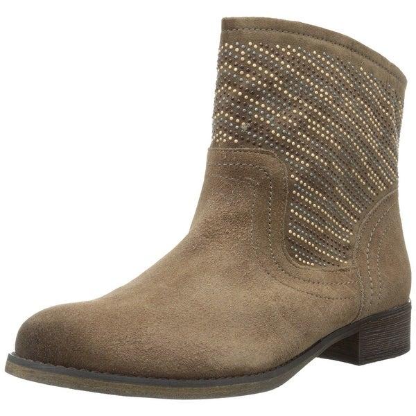 Carlos by Carlos Santana Womens Alton Leather Closed Toe Ankle Fashion Boots