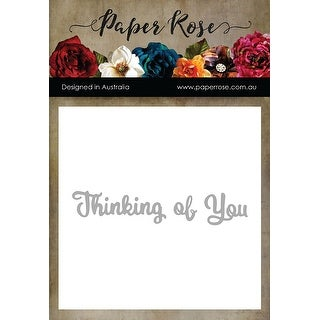 Paper Rose Dies-Thinking Of You