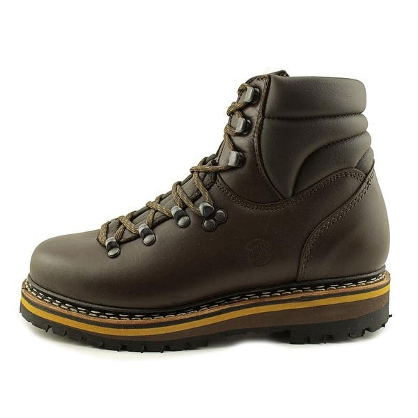 7647061f2d6 Shop Hanwag Grunten Lady Round Toe Leather Hiking Shoe - Free ...