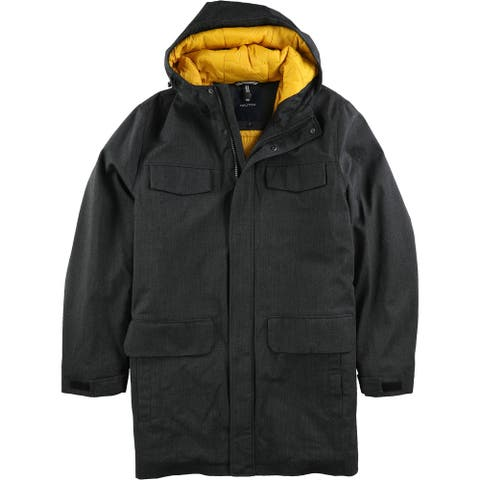 Nautica Mens Herringbone Jacket