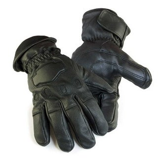 Northstar Mens Deerskin Gauntlet Cycle Glove Lined 150 gram Thinsulate, 034B