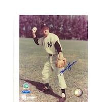Autographed Hank Bauer New York Yankees 8x10 Photo