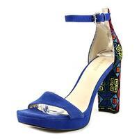 Nine West Women's Dempsey Leather Dress Sandal