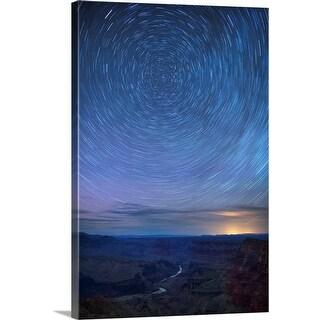 """Night Sky Over Colorado River, Arizona, USA"" Canvas Wall Art"