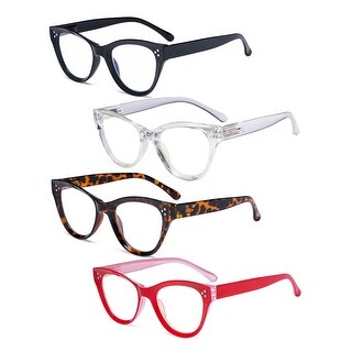 Link to Eyekepper 4-pack Cateye Design Reading Glasses Oversized Readers Similar Items in Eyeglasses