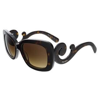Prada PR27OS 2AU6S1 Havana Square Sunglasses