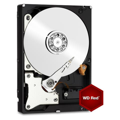 WD WD20EFRX WD Red WD20EFRX 2 TB 3.5 Inch Internal Hard Drive - SATA - 64 MB Buffer - 1 Pack