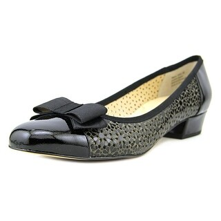 Ros Hommerson Trisha SS Round Toe Patent Leather Ballet Flats