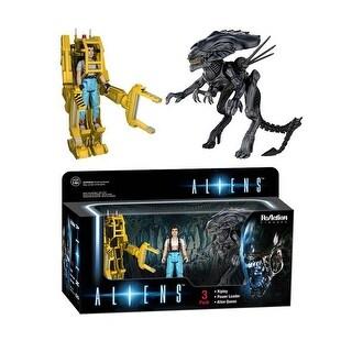 Aliens Funko ReAction 3-Pack Ripley, Power Loader & Queen