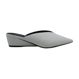 Link to Bar III Womens Kile Leather Pointed Toe Mules Similar Items in Women's Shoes