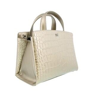 Class Roberto Cavalli London 001 Platinum Mini Shoulder Bag