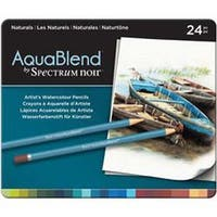 Naturals - Spectrum Noir Aquablend Pencils 24/Pkg