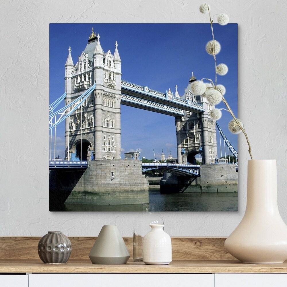 Eurographics 1751-64643 London Tower Bridge Stretched Canvas 24x36