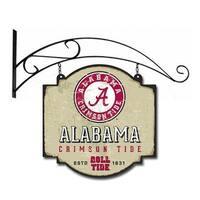 16 x 16 in. Alabama Crimson Tide Mens Vintage Tavern Sign,