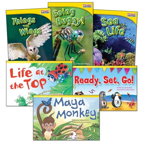 Animal Groups Books - Set of 6