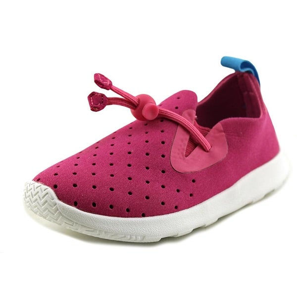 ac9030695ca Shop Native Apollo Moc Girl Hollywood Pink Shell White Athletic ...