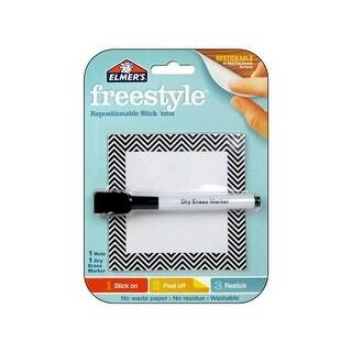 Elmer's Freestyle Repo Stick Em Dry Erase NoteChev