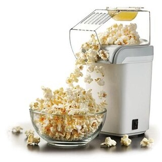 Brentwood Appliances Pc-486W Hot Air Popcorn Maker, White