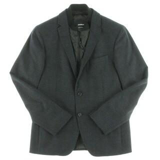 Strellson Mens Sportcoat Wool Checkered - 40r