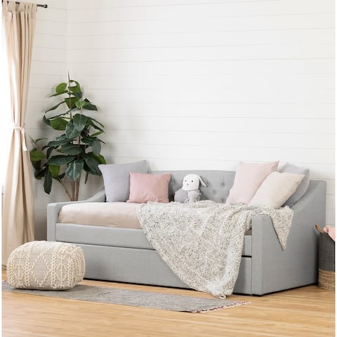 South Shore Tiara Upholstered Daybed with Trundle