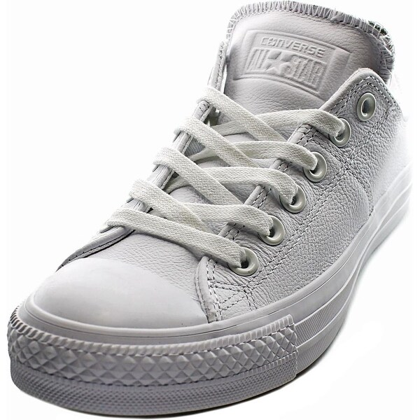 a06c3d058f1 Converse Chuck Taylor All Star Madison Women Round Toe Leather White  Sneakers