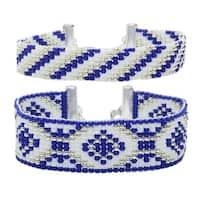 Rockwell Loom Bracelet Duo - Exclusive Beadaholique Jewelry Kit