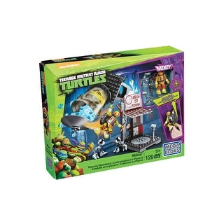 TMNT Mega Bloks Mikey Pizzeria Showdown