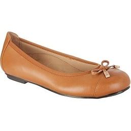 Vionic Women's Spark Minna Ballet Flat Tan Size 8 - 8 b(m) us
