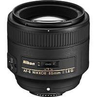 Nikon AF-S NIKKOR 85mm f/1.8G Lens (Open Box)