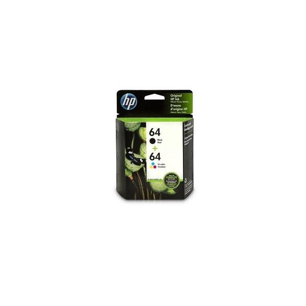 HP 64 Ink Cartridges - Black & Tri-Color (X4D92AN) (Single Pack)