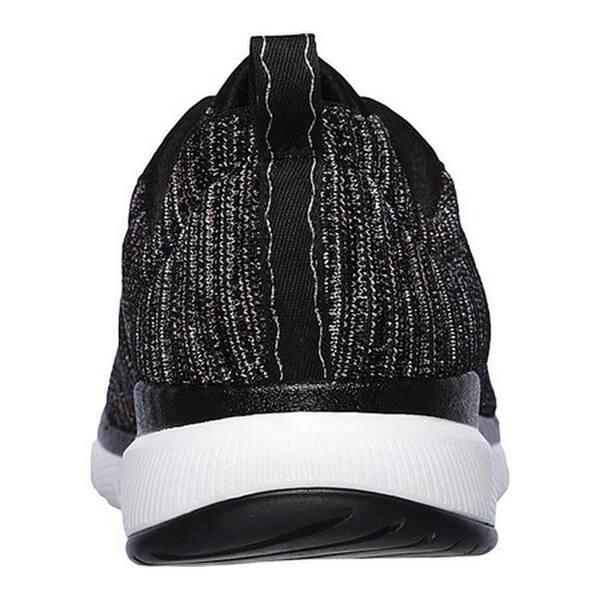 mayoria Adaptabilidad silencio  Shop Skechers Women's Flex Appeal 3.0 Endless Glamour Sneaker Black/Multi -  Overstock - 25578131
