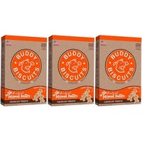 Cloud Star  Itty Bitty Buddy Biscuits Peanut Butter 8 oz Dog Treats 3 Pack