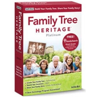 Individual Software PMM-FTH Family Tree Heritage Platinum 15