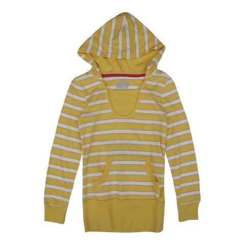 Disney Girls Yellow White Striped High School Musical Hooded Top 8-16