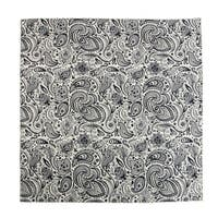 CTM® English Paisley Print Bandana