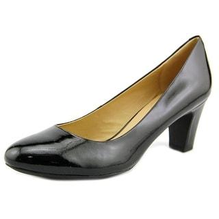 Geox Marie Women  Round Toe Leather Black Heels