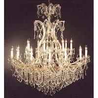 Chandelier Crystal Lighting Chandelier H52 x W46