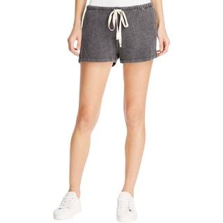 Project Social T Womens Casual Shorts Faded Drawstring