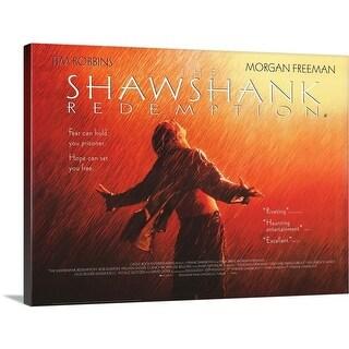 Premium Thick-Wrap Canvas entitled The Shawshank Redemption (1994) - Multi-color