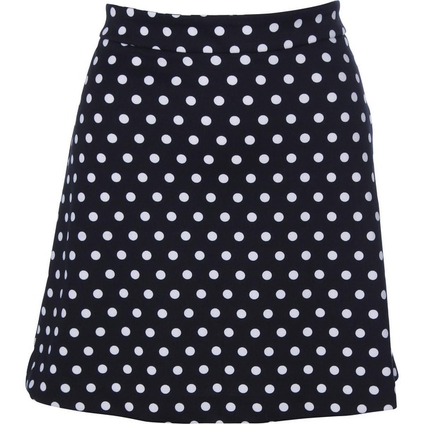MICHAEL Michael Kors Womens A-Line Skirt Polka Dot Above Knee