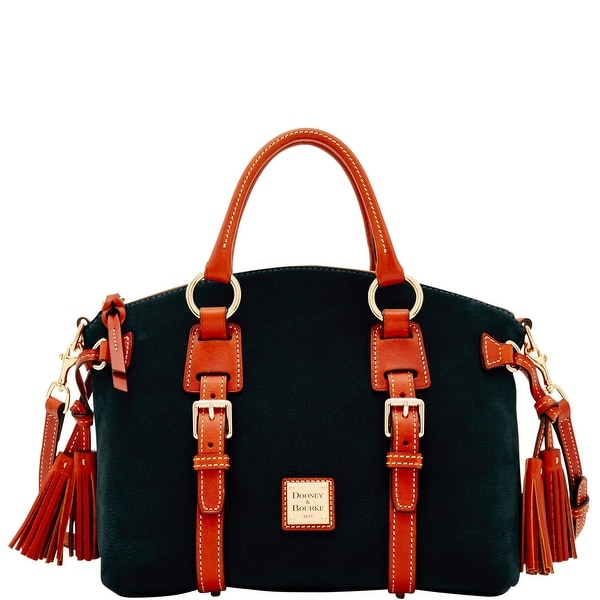 Dooney & Bourke Nubuck Bristol Satchel (Introduced by Dooney & Bourke at $368 in Jun 2017) - Black