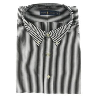 Polo Ralph Lauren Mens Big & Tall Bengal-Striped Poplin Button-Down Shirt - 3xb